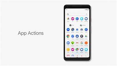 Android App Actions Gestures Battery Offer Publish