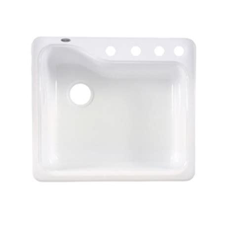 american standard porcelain kitchen sink shop american standard silhouette 25 in x 22 in white heat 7443