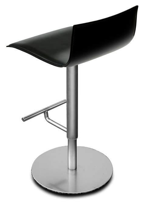 chaise sans pied thin adjustable bar stool pivoting wood seat black oak