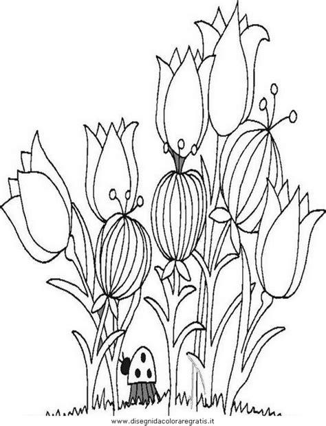 disegno primaverafiori categoria natura da colorare