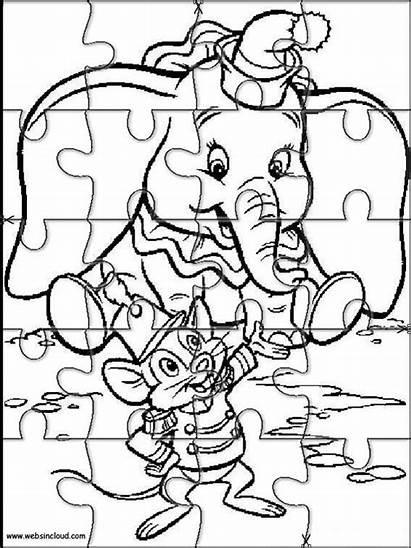 Dumbo Para Puzzles Rompecabezas Imprimir Dibujos Disney