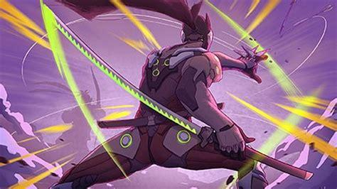Genji Animated Wallpaper - overwatch genji theme for windows 10 8 7