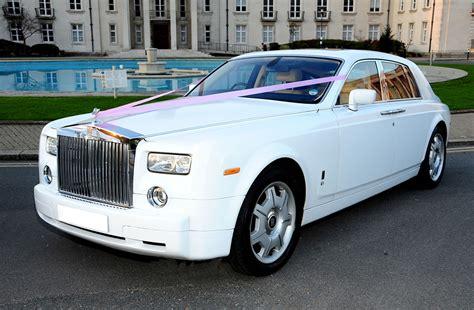 White Rolls Royce Phantom Hire