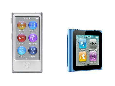 ipod nano generationen ipod nano 7th generation vs ipod nano 6th generation