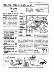 U0026 39 Motor Trader U0026 39  Service Data  1951  For The Xk120 Also The