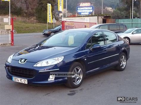 peugeot executive car 2005 peugeot 407 1 6 hdi executive car photo and specs