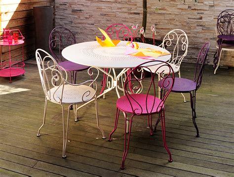 chaise de jardin couleur beautiful table de jardin couleur aubergine pictures