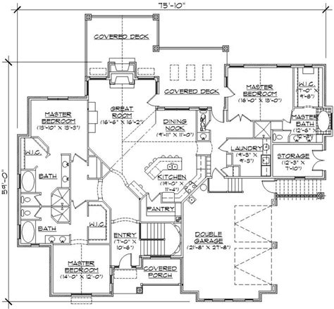 house plans with 3 master suites 3 master suites home plans