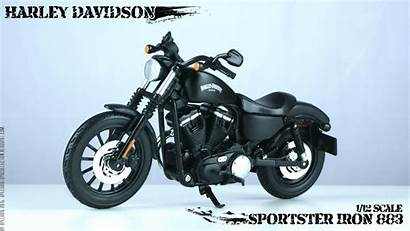 Iron Harley Davidson Sportster Maisto Cooled Air