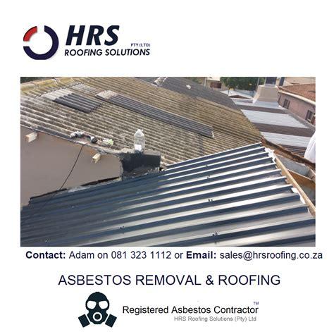 asbestos roof removal cape town stellenbosch paarl