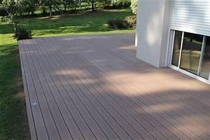 Prix Terrasse Bois : terrasse en bois composite prix m2 nos conseils ~ Edinachiropracticcenter.com Idées de Décoration