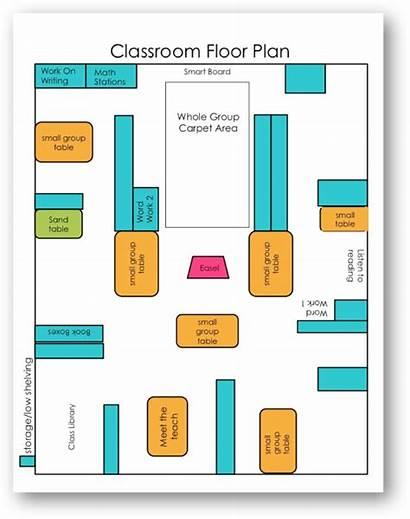 Classroom Layout Floor Plan Kindergarten Differentiated Preschool