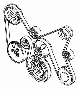 31 2007 Chrysler Sebring Serpentine Belt Diagram
