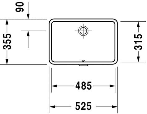 duravit vero sink sizes duravit vero washbasins vanity basin 033048 by duravit