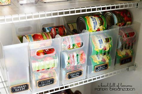 kitchen can organizer pantry organization a bowl of lemons 3310