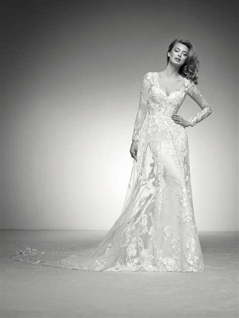 ilma mermaid wedding dress   tulle  lace coat