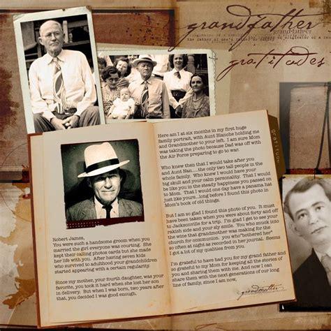 grandfather gratitudes scrap  page   letter format