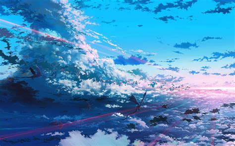 Anime Sky Wallpaper - sky anime digital wallpapers hd