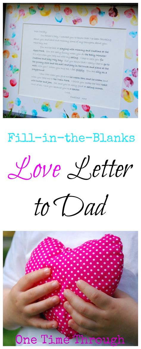 love letter  dad  fathers day kids crafts dad