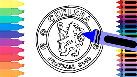 How To Draw Chelsea F.c. Badge