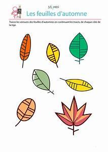 Feuilles D Automne à Imprimer : reproduction sym trique les feuilles d 39 automne ~ Nature-et-papiers.com Idées de Décoration