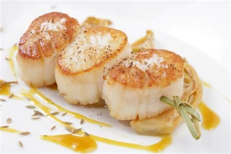 formation cuisine gastronomique recette de brochette de jacques fenouil au miel et
