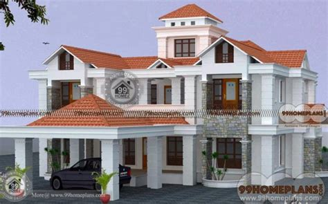 luxury bungalow house plans indian home design