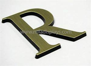 letters logos plastic metal custom chrome plated 3 d With raised plastic letters