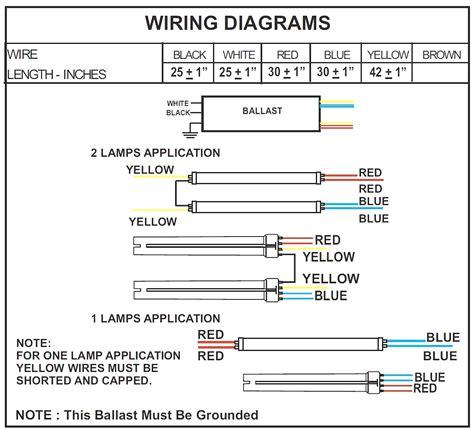 Ballast Wiring Diagram T8 by Wiring A 4 Bulb T8 Ballast Bulbs Ideas