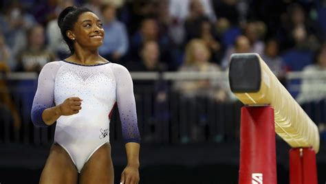 simone biles takes gold medal   classic gymnastics