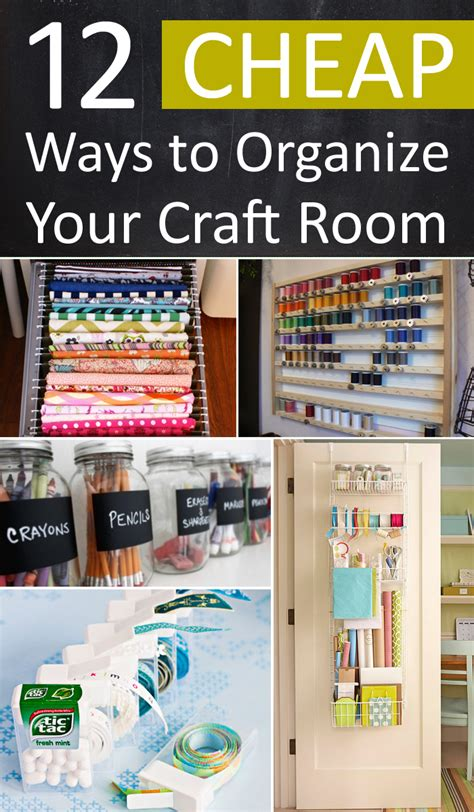 organizing your craft room on a budget vintage paint 12 cheap ways to organize your craft room