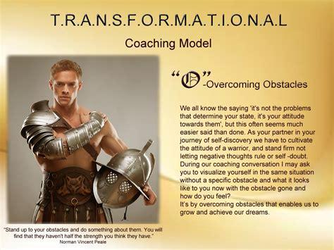 coaching model transformational page