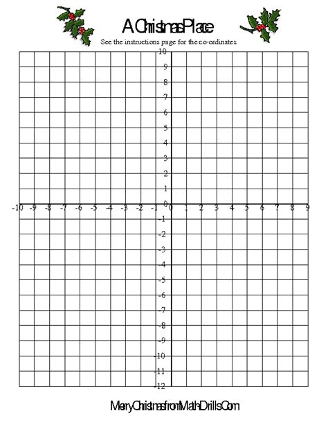 Christmas Coordinate Graphing Worksheets Free Worksheets Library  Download And Print Worksheets