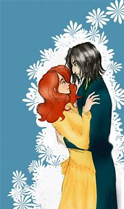 Severus and Lily by lepetityoshi on DeviantArt