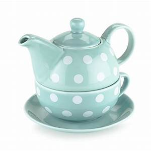 Teapots, Ceramic, Addison, Polka, Dot, Chinese, Small, Cute, Tea, Set, For, One, Sold, By, Case, Pack, Of, 3