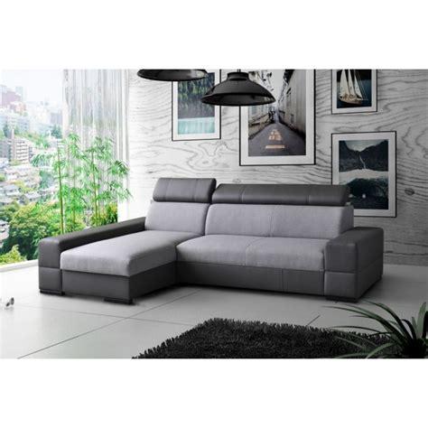 matelas pour canapé canapé d 39 angle 4 places convertible tissu simili