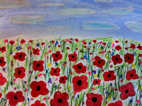 poppy fields remembrance day art room with a view poppy fields for remembrance day