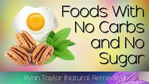 foods with no carbs and no sugar