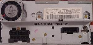 Chevrolet Gm Radio Cd 09383075 15764358 Delco Electronics