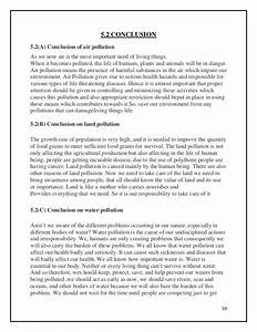 Write Essay On Pollution Writing A Good Essay Tip