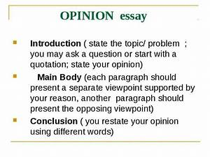 Opposing Viewpoints Essay How To Write A Thesis Paper Opposing  Opposing Viewpoints Argumentative Essay Outline
