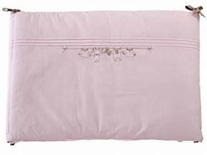 Tour De Lit Rose : tartine et chocolat tour de lit trousseau rose ~ Teatrodelosmanantiales.com Idées de Décoration
