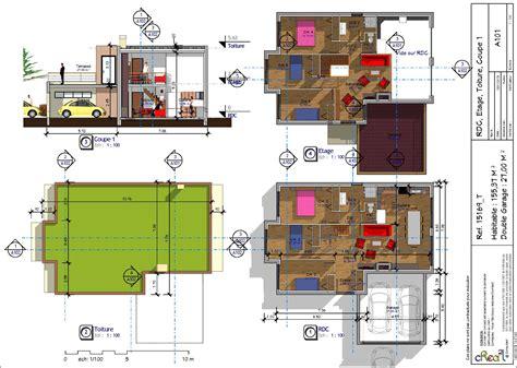 plan maison 7 chambres plan maison plain pied 4 chambres garage maeva 7 4