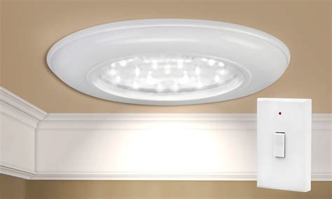wireless led ceiling light groupon goods