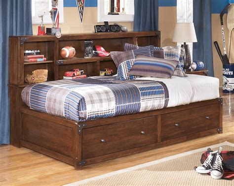 twin bookcase storage bed delburne twin bookcase storage bed from ashley b362 85 51