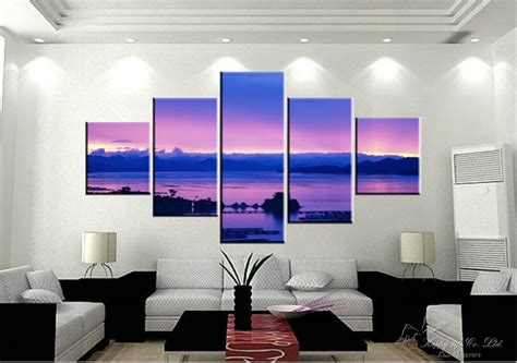 5 Below Home Decor : Paintings Oil Painting Cuadros Decoracion 5 Panel Home