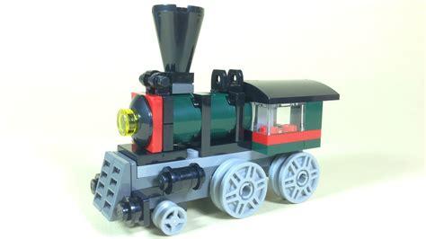 build lego steam train lego creator  youtube