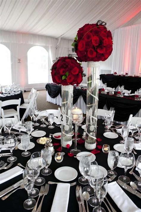 deco de salle mariage noir et blanc decoration de salle noir et blanc fashion designs