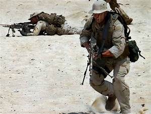Navy SEALs in Action - Military Image