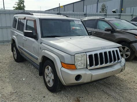 used jeep commander used 2007 jeep commander car for sale at auctionexport